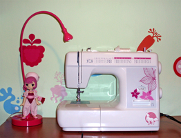 New sewing machine by WolfPink