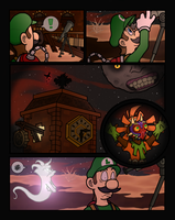 Majora's Mansion: Scary Moon by Kirby-of-Fire