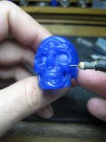 Skull ring tutorial 8 by flintlockprivateer