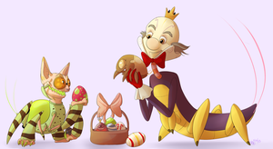 Easter Cy-bug Egg Hunt by Rodent-blood