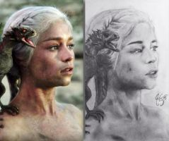 Game Of Thrones Daenerys Targaryen by Pstigger