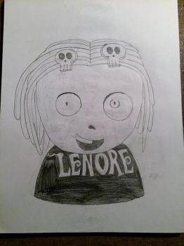 Lenore Figurehead (Enhanced) by horrorshowfreak
