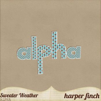 Sweater Weather, Mini Kit Alpha by harperfinch