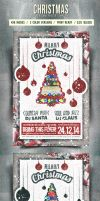 Christmas Flyer/Poster Retro Vol.9 by elisamaggit