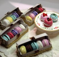 French Macarons by ChocolateDecadence