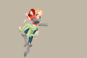[LoL] I'll carry you. by HattieDraper