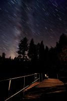 Stars over Tahoe by fistfulofneurons