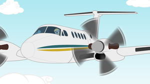 Derpy King Air by IFollowRoads