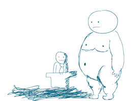 Fat man by theGman0