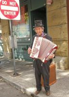Accordion Guy by KelbelleStock