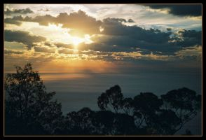 Escarpment sunrise 12 by wildplaces