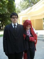 Grelle and William by Sadict