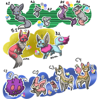 Pkmnation ( 4 OPEN) Clutch by kitzune-griffith