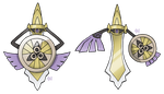 #681 Aegislash by SM by Sworn-Metalhead