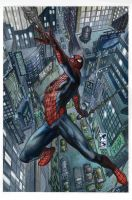 Spiderman cover issue 33.1 and 33.2 by simonebianchi