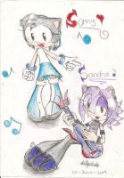 sing with samy and sandra 8D by Karyogui