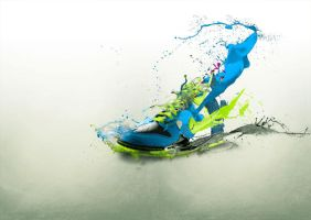 nike revolution by vikia