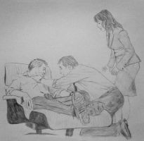 House MD OT3 drawing by Fezzes