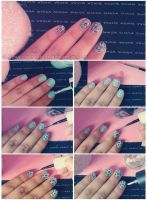 Nail ART Tutorial O6 by friabrisa