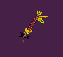 Princess Keyblade(Twilight Butterfly) by surviorlaura