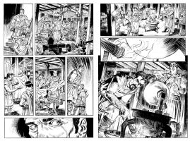 Hero of Alexandria #1 pgs 23 and 24 by deankotz