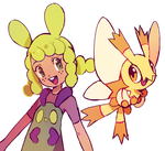 maggy and dayfly by extyrannomon