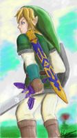 Link Skyward sword by Ronron-Senpai