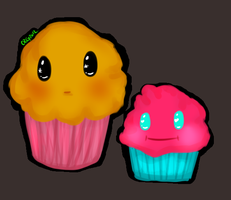 Muffin Cuties by Toxiee