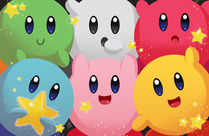 FA - The Kirby Crew by AngelDranger
