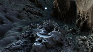 Fractal Death Valley 460 - Mandelbulb 3D fractal by schizo604
