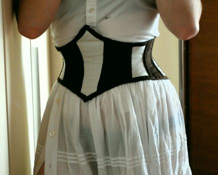 Corset belt by GrimildeMalatesta