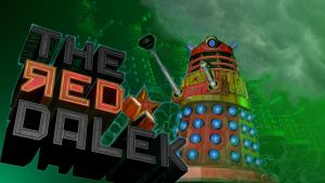 The Red Dalek by LEMIKEN