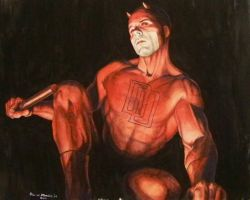 Daredevil painting by Meador