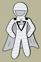 Paper man by Maleiva
