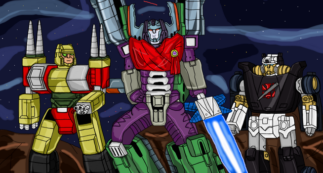 Decepticons by Omega-Knight01