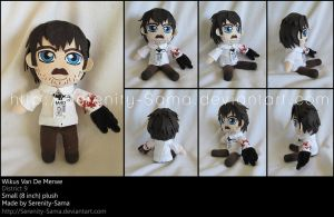 Plushie: Wikus Van De Merwe - District 9 by Serenity-Sama