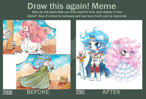 Draw this Again Meme by YamPuff