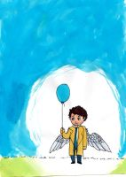 Cas's Balloon by Nokebu