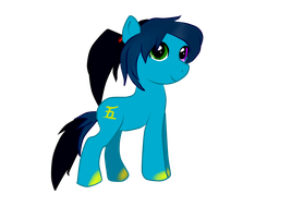 Commish- Akira Yushida as pony. by Kittenzarecute123