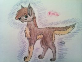 New OC again- Florke by Rainbow-Note
