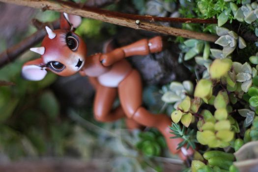 Timber the Little Deer Ball Jointed Doll 9 by vonBorowsky