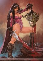 Demon hunter by FransMensinkArtist