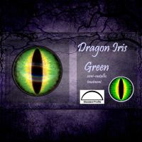 Green Dragon Irises by CozmicDreamer