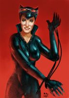 catwoman by mikeorion22