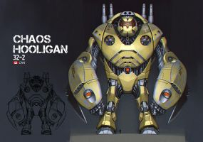Jaeger: Chaos Hooligan by Artsammich