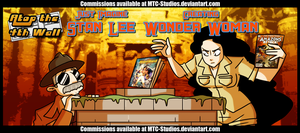 AT4W: Just Imagine Stan Lee Creating wonderwoman by MTC-Studio