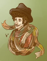 4th Doctor by surrenderdammit