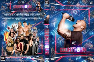 WWE Countdown DVD Cover by Chirantha