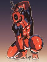 Deadpool - Chamba Colors by marcotte