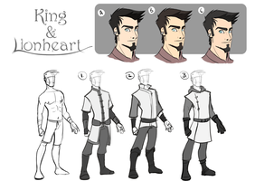 King and Lionheart: Reyez's Design Concepts by Zukitz